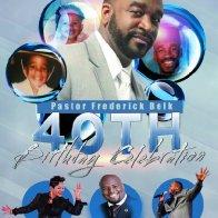 Pastor Belk's 40th Celebration