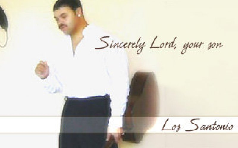 Sincerely Lord, your son